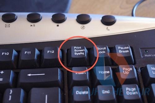 کلیدPrint screen sysrp